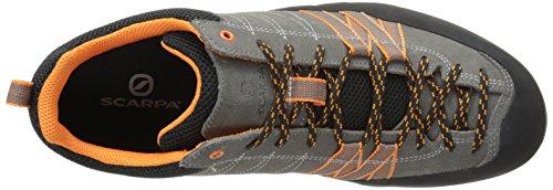 Scarpa Uomo Crux Avvicinamento Scarpa Da Trekking Grigio / Arancione