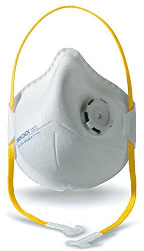 - Moldex 2575 Smart Pocket FFP3 NR D with Air Valve Respiratory Mask (10 Piece)