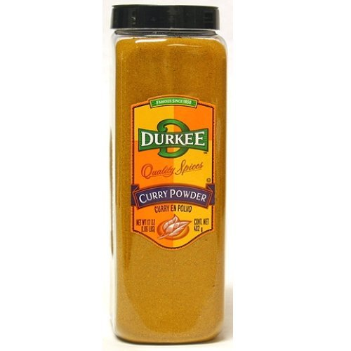 Durkee Curry Powder - 17 oz. container, 6 per case by Durkee