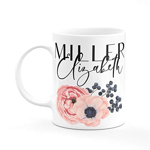 Personalized Coffee Mug Gifts with Your Name - 7 Different Designs - Party, Housewarming Gifts - Design 3 -