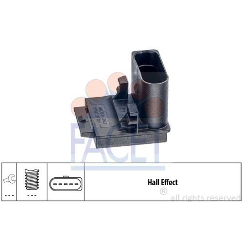 Facet - 7.1310 - Brake/Clutch Pedal Switches