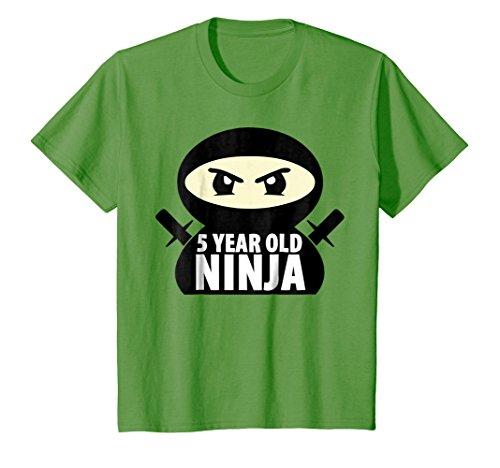 Kids 5 Year Old Boy Shirt Unisex Child