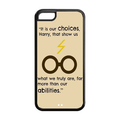 Custom Harry Potter Phone Case Cover Protection for iphone 5c TPU