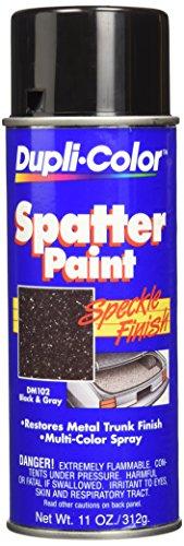 Dupli-Color DM102 Black and Gray Spatter Trunk Paint - 11 oz.