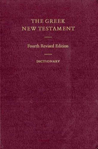 The Greek New Testament (Greek and English Edition)