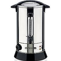 Monzana® Glühweinkessel aus Edelstahl 20 l 1650 W - Glühweinkocher Glühweintopf Wasserkocher Teekocher Einkochautomat Heißwasserspender Glühweinautomat
