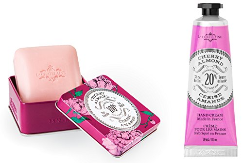 La Chatelaine Cherry Almond Shea Butter Hand Cream and Frenc