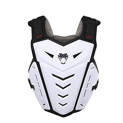 HEROBIKER Motorcycle Armor Vest Motorcycle Riding Chest Armor Back Protector Armor Motocross Off-Road Racing Vest