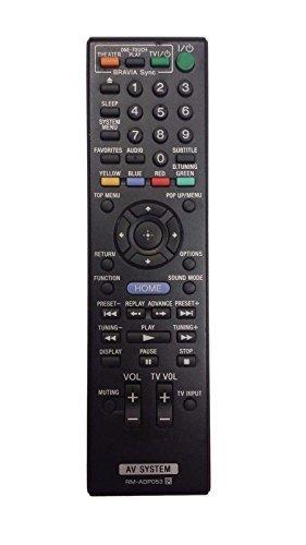 RM-ADP053 Replacement Remote Control for SONY BDV-N890W BDV-E580 BDV-E880 BDV-F500 DVD Home Theater Audio Blu Ray Disc Player by Poramo