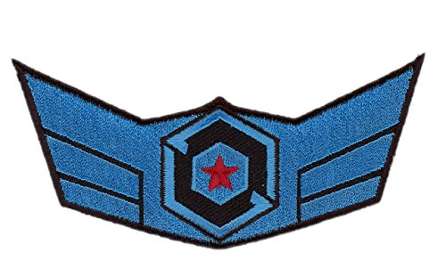 Gipsy Avenger Jaeger Crew Wings Pacific Rim Alien Kaiju Cosplay Patch