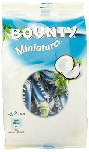 Bounty Miniatures 130g Bounty Milk Chocolate Bar