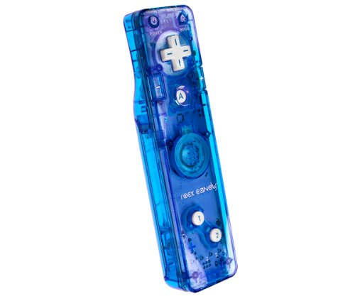 Rock Candy Wii Gesture Controller - Blue (Wii Rock Candy Remote compare prices)