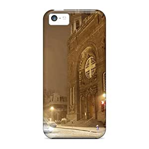 Defender Case With Nice Appearance (persistent Winter) For Iphone 5c
