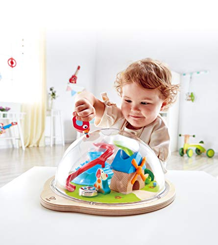 Hape Sunny Valley Adventure Dome | 3D Toy with Magnetic Maze, Kids Play Dome Featuring Characters and Accessories