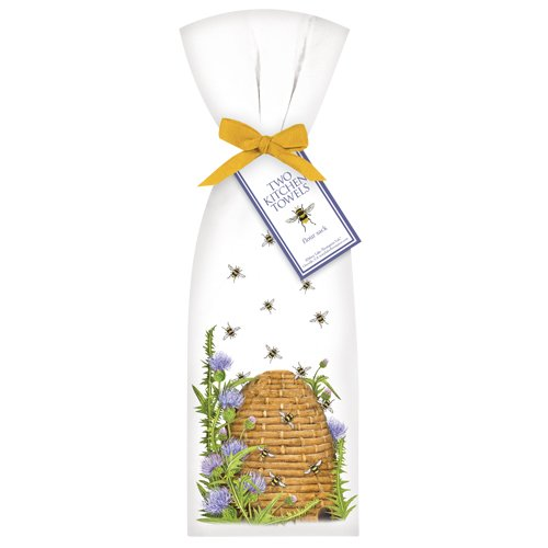 Beehive-with-Thistle-Towel-Set