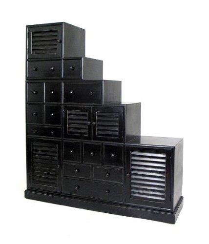 Tansu Step Cabinet 136865 (Step Tansu Cabinet)