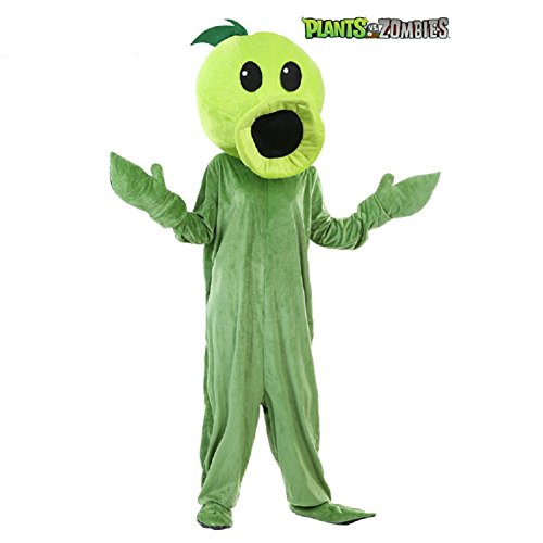 Adult Peas Costumes (Mocona Children's day Halloween performance of plant wars zombie pea shooters costume)