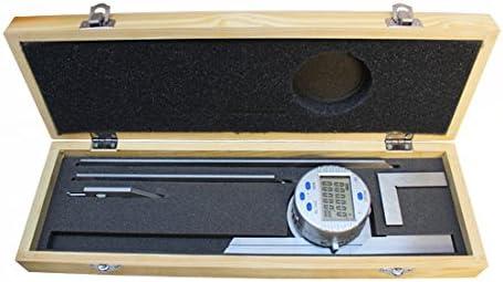 Universal Digital Protractor measurement 0-360 Degree Resolution 30/'/' Ruler