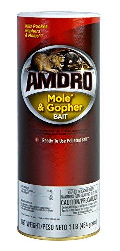 - AMDRO Mole & Gopher Bait, 1 lb.