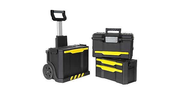 Preciso diseñado con ruedas taller caja de herramientas Stanley Rolling [1 unidad] - con Garantía 3 años rescu3: Amazon.es: Bricolaje y herramientas