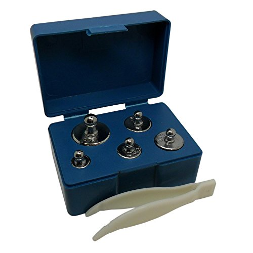 MAGIKON-Precision-Steel-Scale-Calibration-Weight-Kit-M2-Class-105-Gram