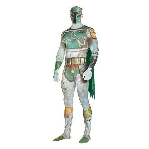 Costume - Star Wars - Boba Fett Digital Morphsuit - Adult (XXL) -