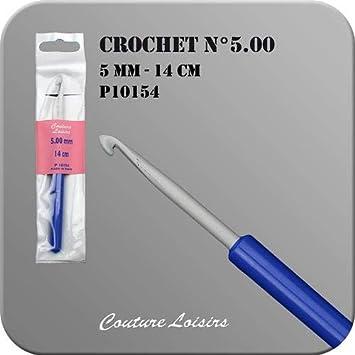 14 cm Couture Loisirs 6 n 4 Gancio per uncinetto con manico in plastica n 6 5 o n