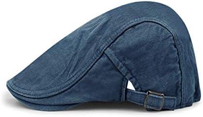 KUQIQI Sombrero, Ribete a la Moda de los Hombres Boina Vaquera ...