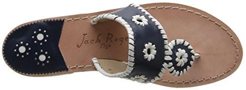 Sandal Navy Women's Palm Rogers Beach Navajo Classic Jack White nxYqg0wAA