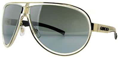 Gucci Gg 1566/S Crystal/Gold Frame/Silver Mir Grad Lens 66Mm