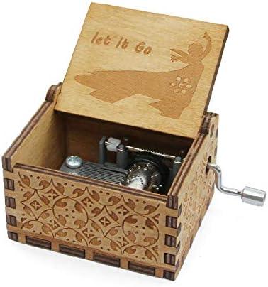 VDV Caja de música – aiboully Star Wars Caja de música Movimiento Juego de Tronos Antiguo Tallado Madera Cajas Musicales Caja de Musica Drop envío: Amazon.es: Hogar