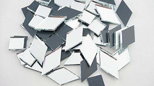 Assorted v1.1 mirror mosaic tile. 350 (Assorted Mirror Tile)