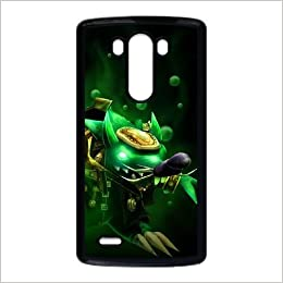 Amazon.com: LG G3 phone case Black Twitch league of legends ...
