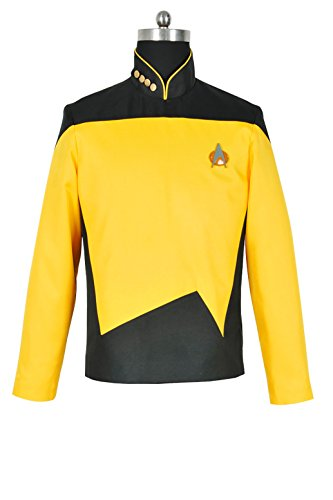 XOMO Star Trek: The Next Generation Cosplay Operations Uniform Costume Custom (Star Trek Costumes Custom Made)