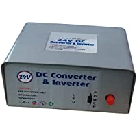 TRP TRADERS 24V DC to 220V AC, 100W Inverter (Silver)