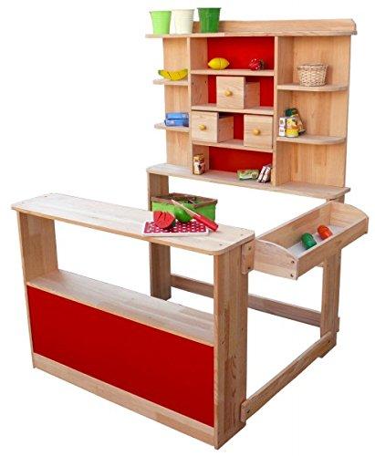 Kaufladen holz - Coemo Kaufladen aus Holz