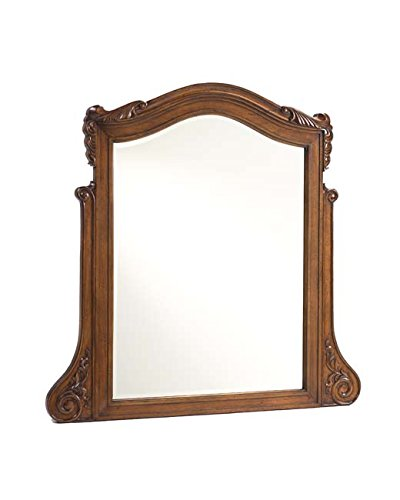 Heritage Cherry Vanity (French Heritage Lille's Mirror Over Dresser, Antique Cherry Finish)