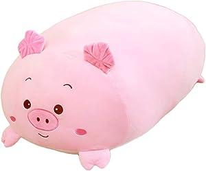 angel3292 30cm Cute Stuffed Animal Plush Toy, Soft Plush Body Lying Pig Cats Animal Plush Stuffed Doll Toy Home Sofa Couch Car Decor Little Pig