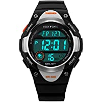 V2A Kids LED Backlight Waterproof Digital Sports Casual Watch for Boys and Girls