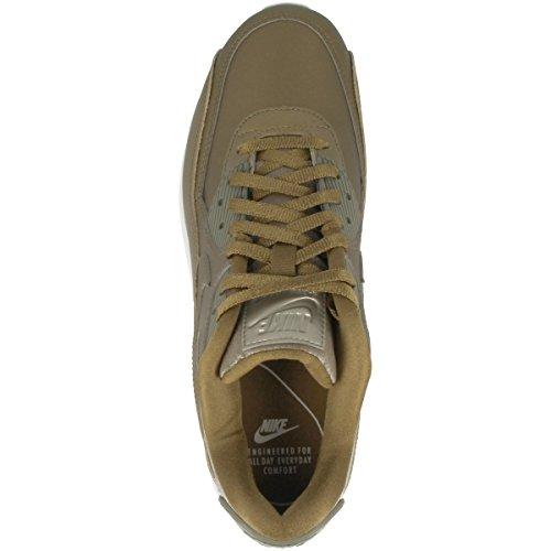 Field Rush piel nbsp;premium 90 Air Malla Gold Max summit Zapatillas hazel White metallic Nike qw6zgz