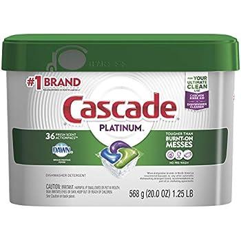 Amazon.com: Cascade Platinum ActionPacs, Dishwasher