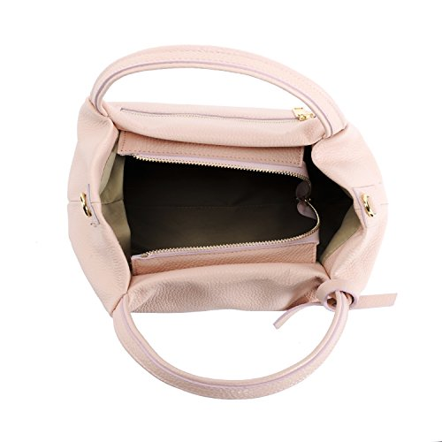 BAG femme Bubble Modèle Rose Main à cuir MY OH Sac S5wf1pq
