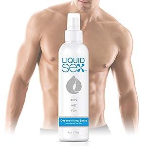 Topco Liquid Sex Desensitizing Spray for Him, 4 Fluid Ounce