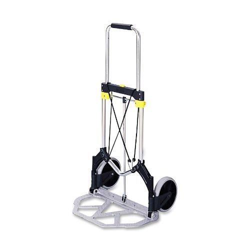 Safco Stow-Away Collapsible Hand Truck by (Safco Products Stowaway)