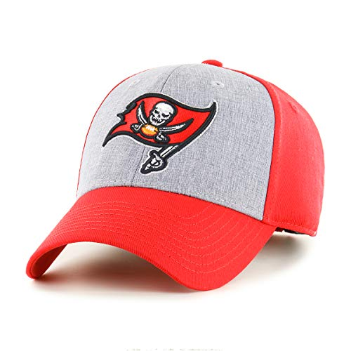 OTS NFL Tampa Bay Buccaneers Male Essential All-Star Adjustable Hat, Torch Red, One Size