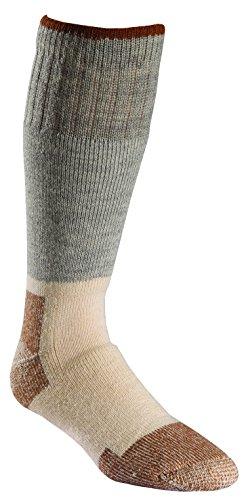 FoxRiver Men's Wick Dry Steel-Toe Wool Boot Mid-Calf, Grey, X-Large (Fox Socks Wool River)