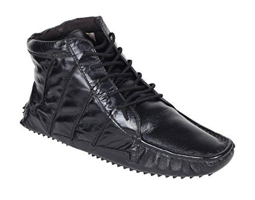 crocodile brand Mens Boot genuine Leather Biker short Black Boots Uk size-8