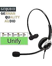 Business Headset geeignet für Unify ® OpenStage 30 40 60 80 OpenScape, innovaphone ® Telefone - IP Phone mit RJ-Anschluss   Anschlusskabel inklusive   60g leicht