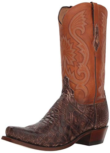 Lucchese Bootmaker Men's Rio Western Boot Antique Chocolate 10.5 D US