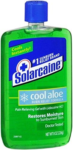 Aloe Cool (Solarcaine Cool Aloe Burn Relief Gel 8 oz)